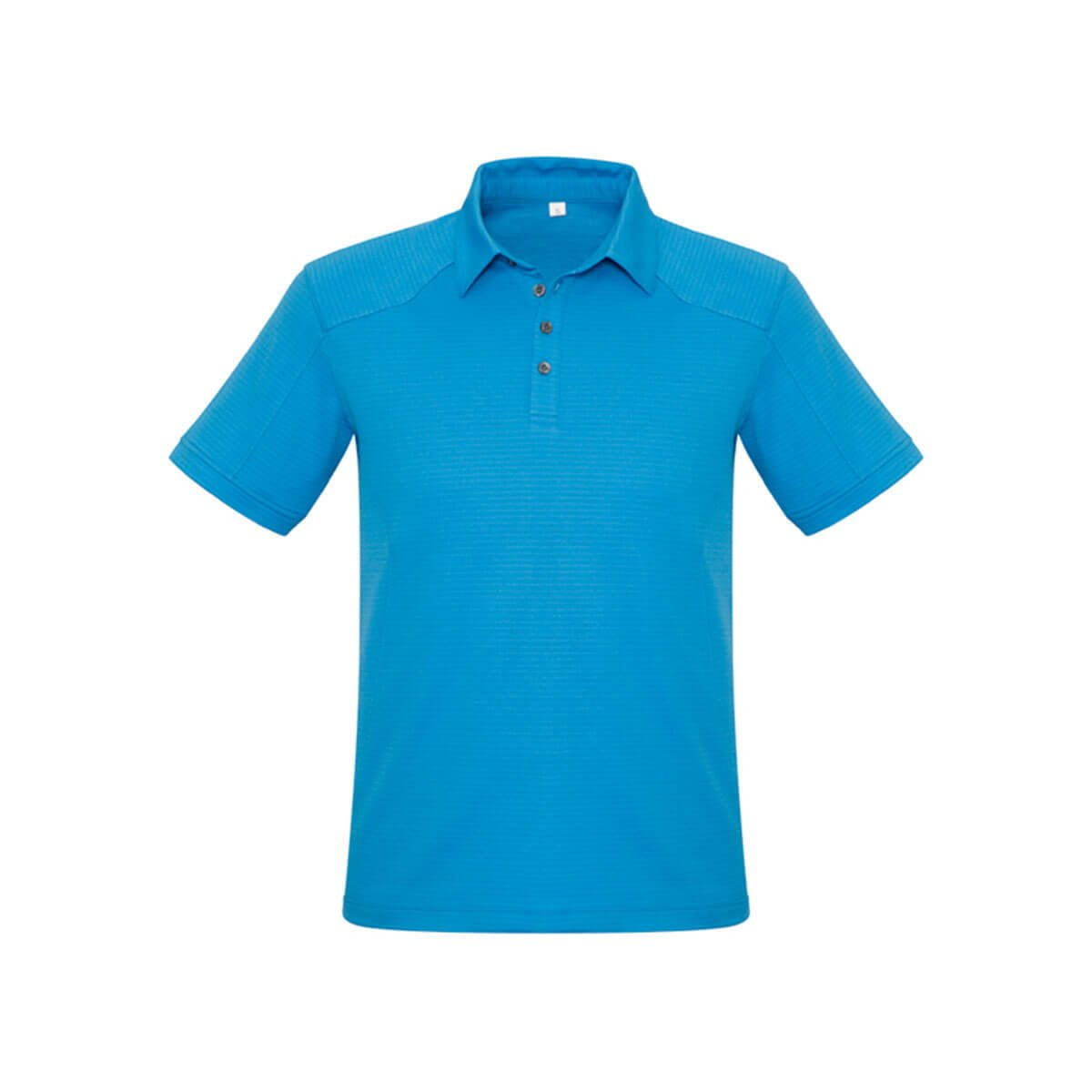 Mens Profile Polo-Cyan