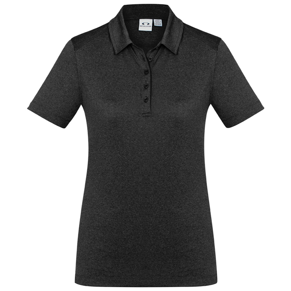 Ladies Aero Polo-Black