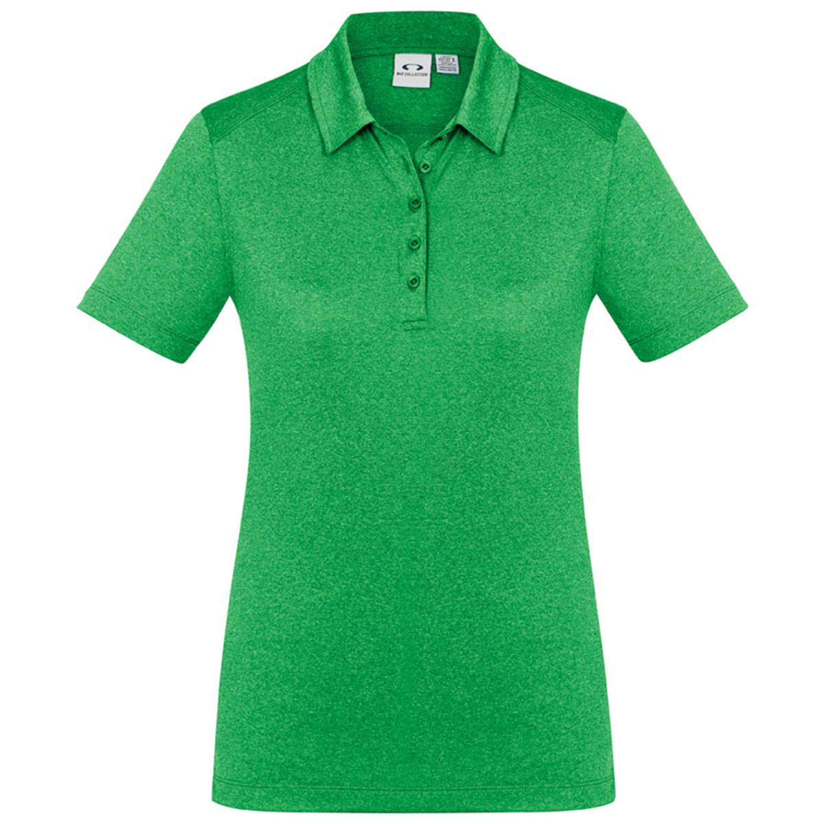Ladies Aero Polo-Lime