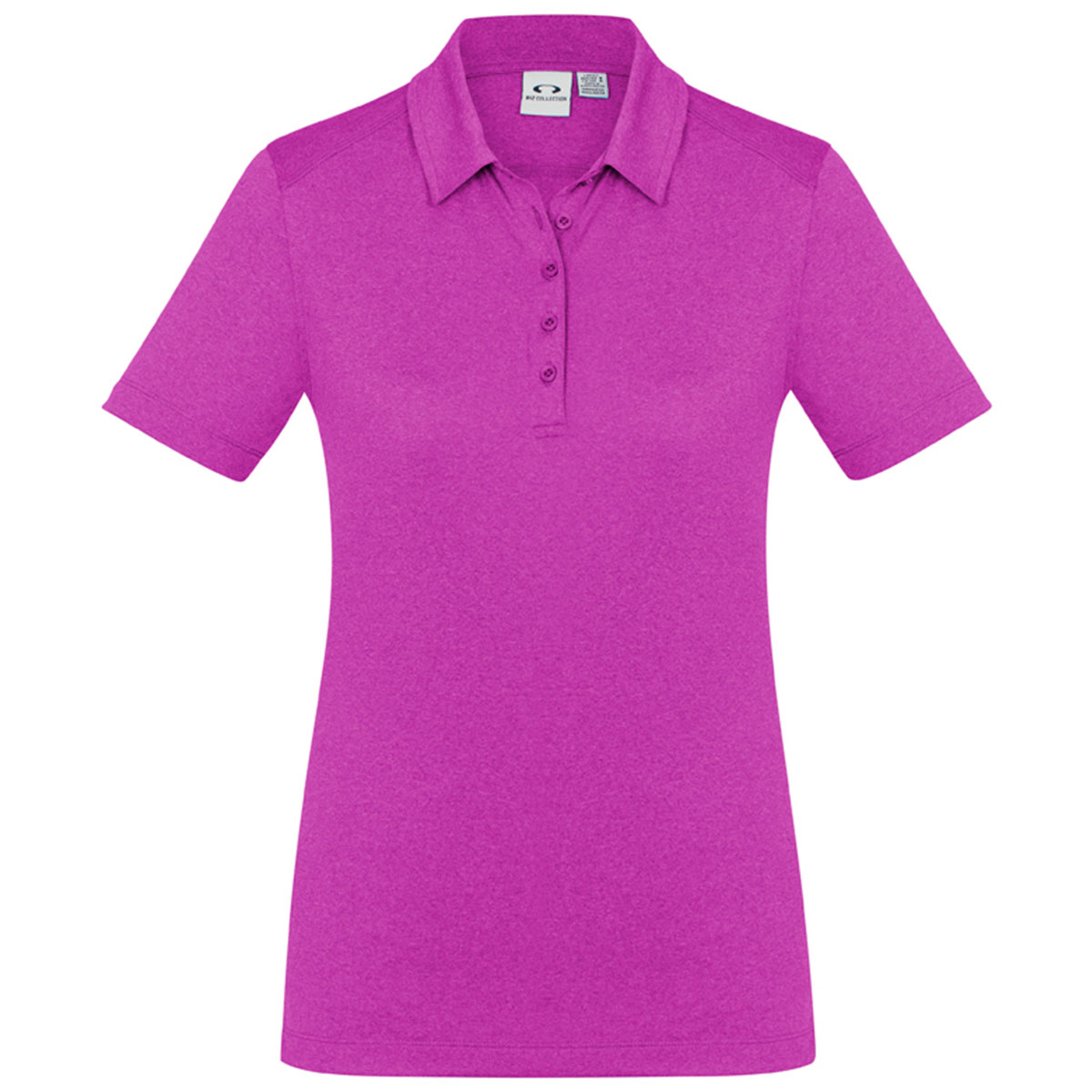 Ladies Aero Polo-Magenta