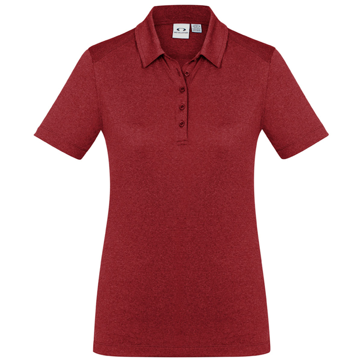 Ladies Aero Polo-Red