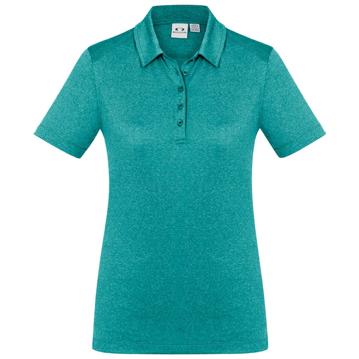 Ladies Aero Polo-Teal