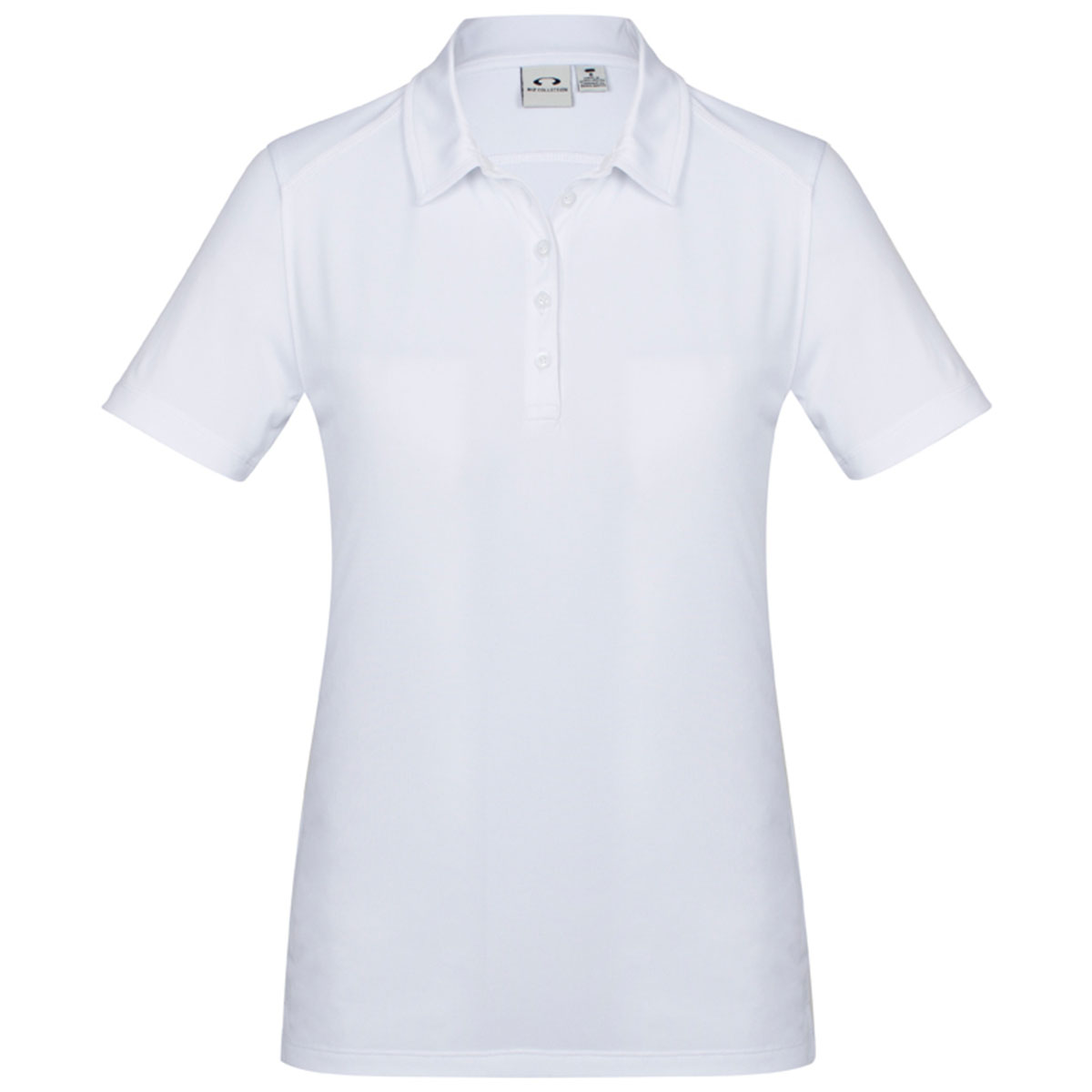 Ladies Aero Polo-White