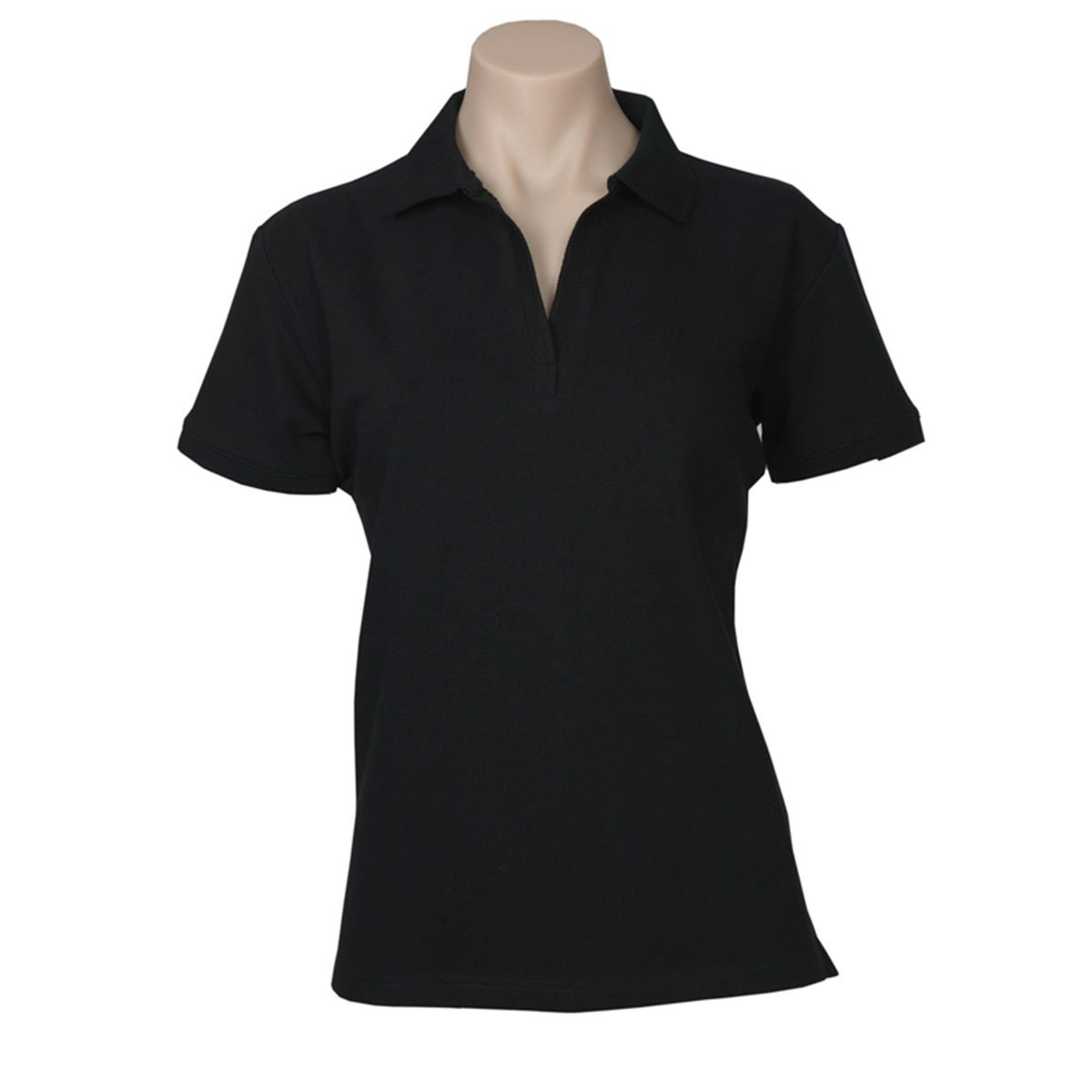 Ladies Oceana Polo-Black