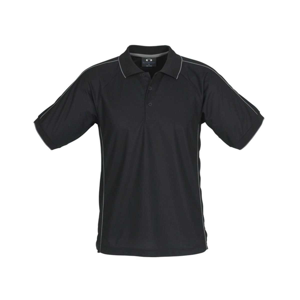Mens Resort Polo-Black