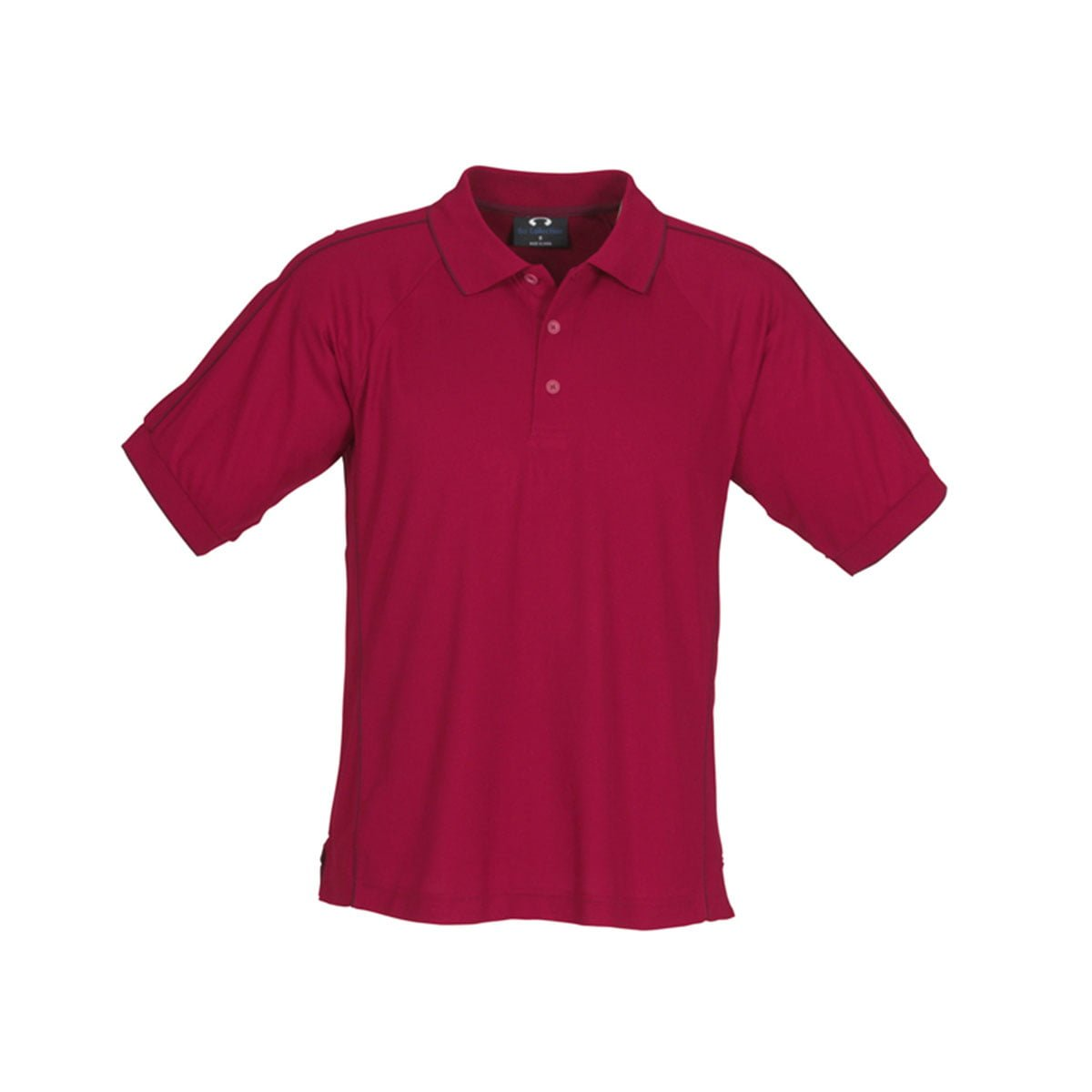 Mens Resort Polo-Cherry / Maroon