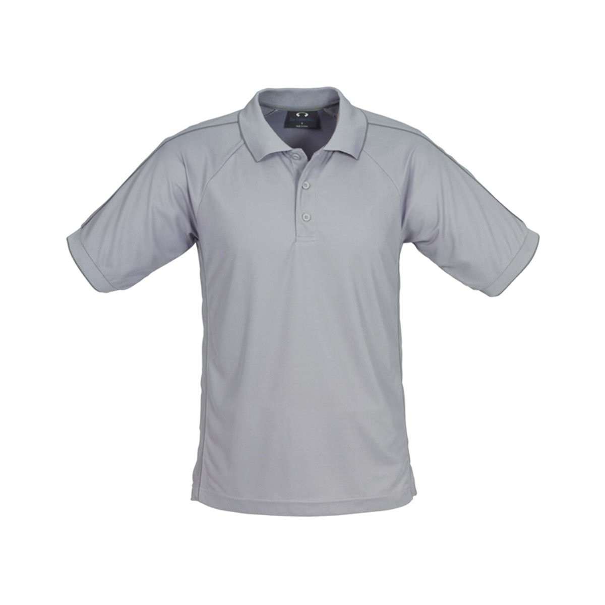 Mens Resort Polo-Grey / Charcoal