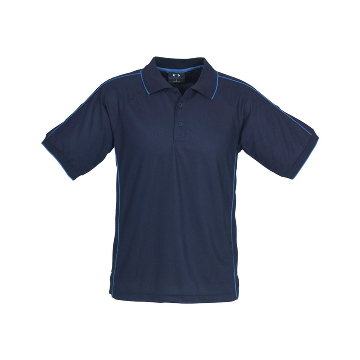 Mens Resort Polo-Navy / Mid Blue