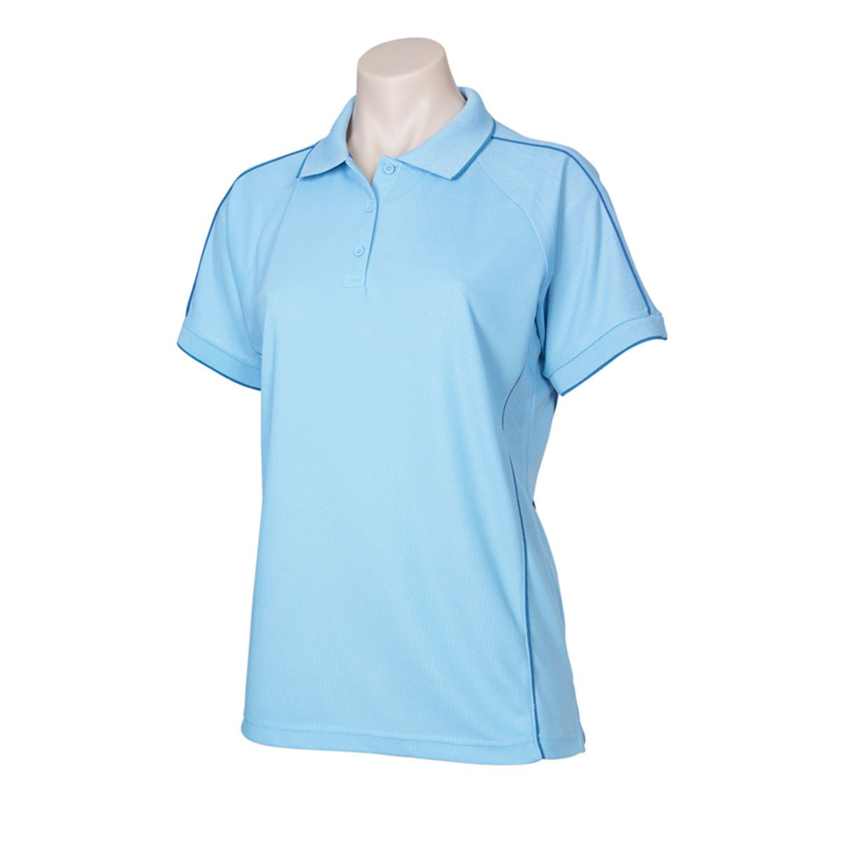 Ladies Resort Polo-Spring Blue / Mid Blue