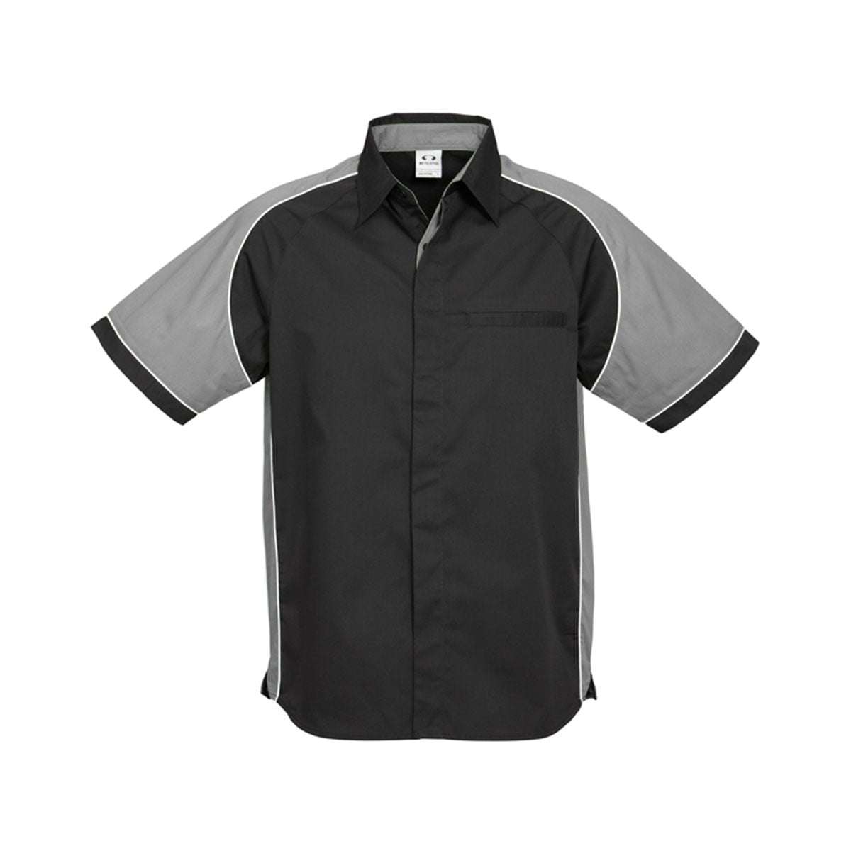 Mens Nitro Shirt-Black / Grey / White