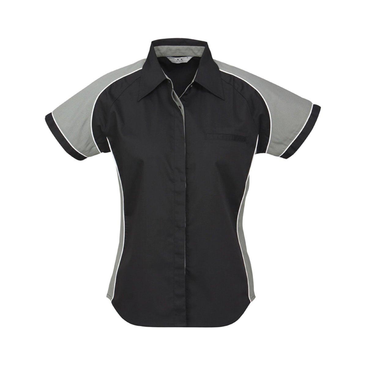 Ladies Nitro Shirt-Black / Grey / White