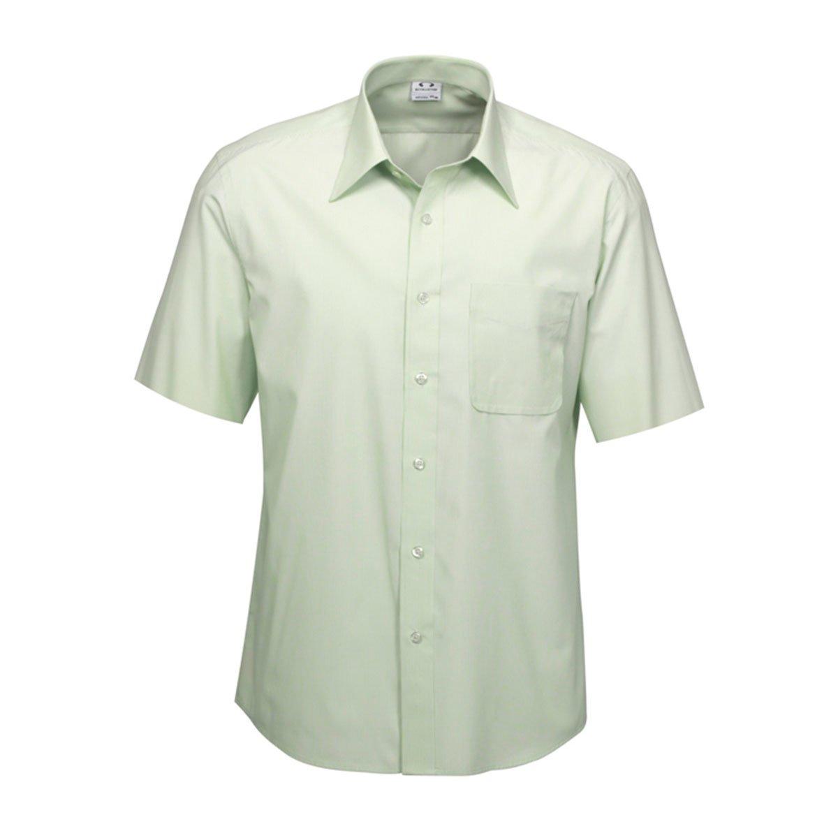 Mens Ambassador Short Sleeve Shirt-Green