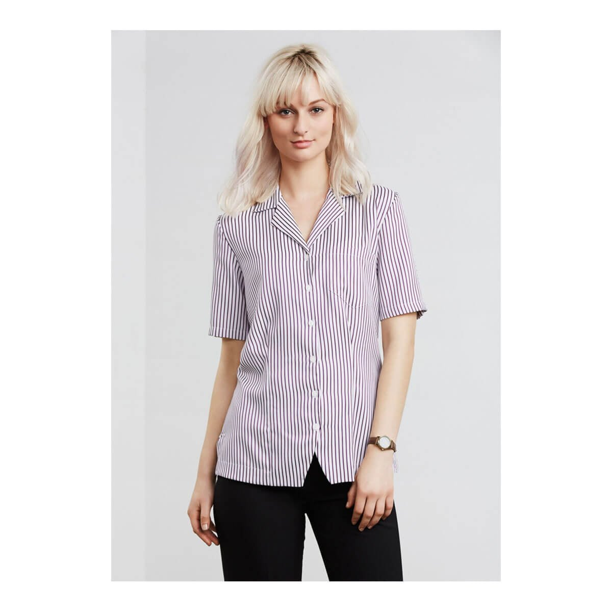 Ladies Stripe Oasis Overblouse