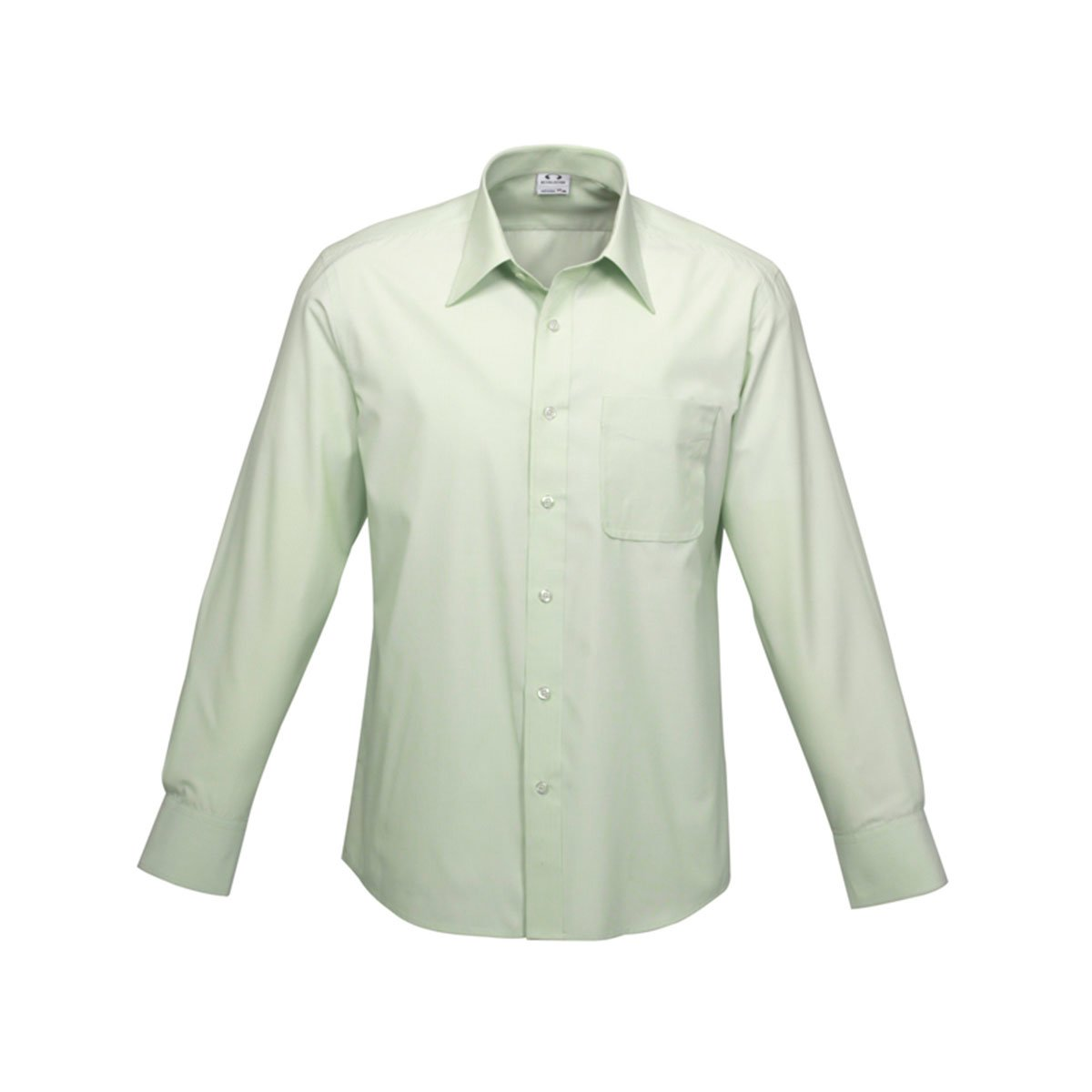 Mens Ambassador Long Sleeve Shirt-Green
