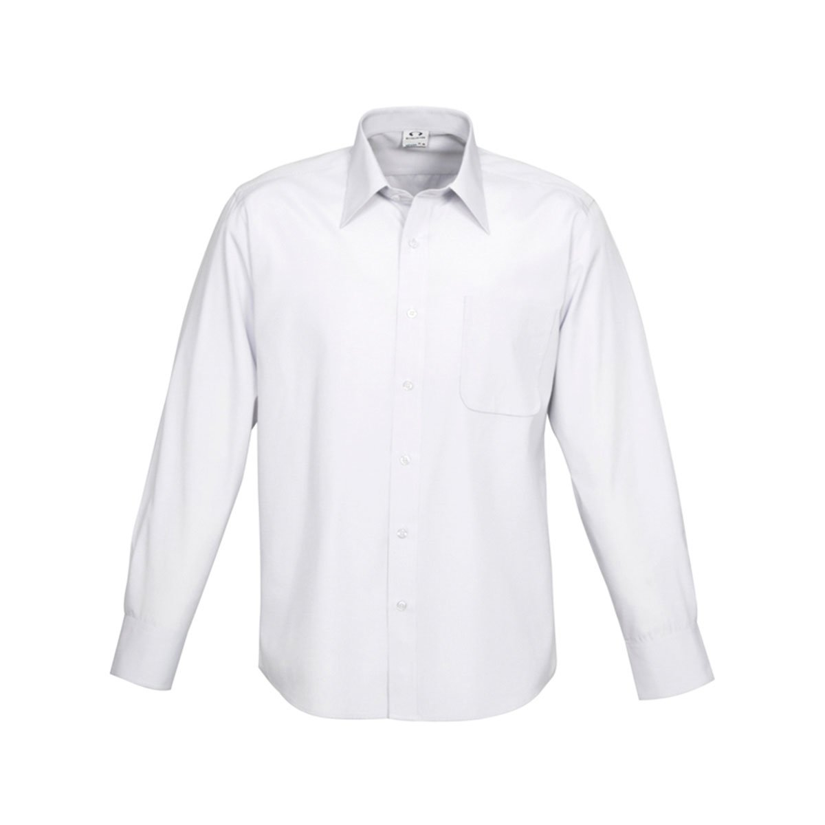 Mens Ambassador Long Sleeve Shirt-White