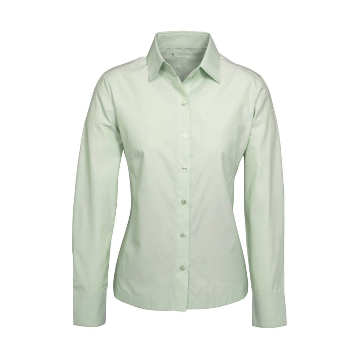 Ladies Ambassador Long Sleeve Shirt-Green