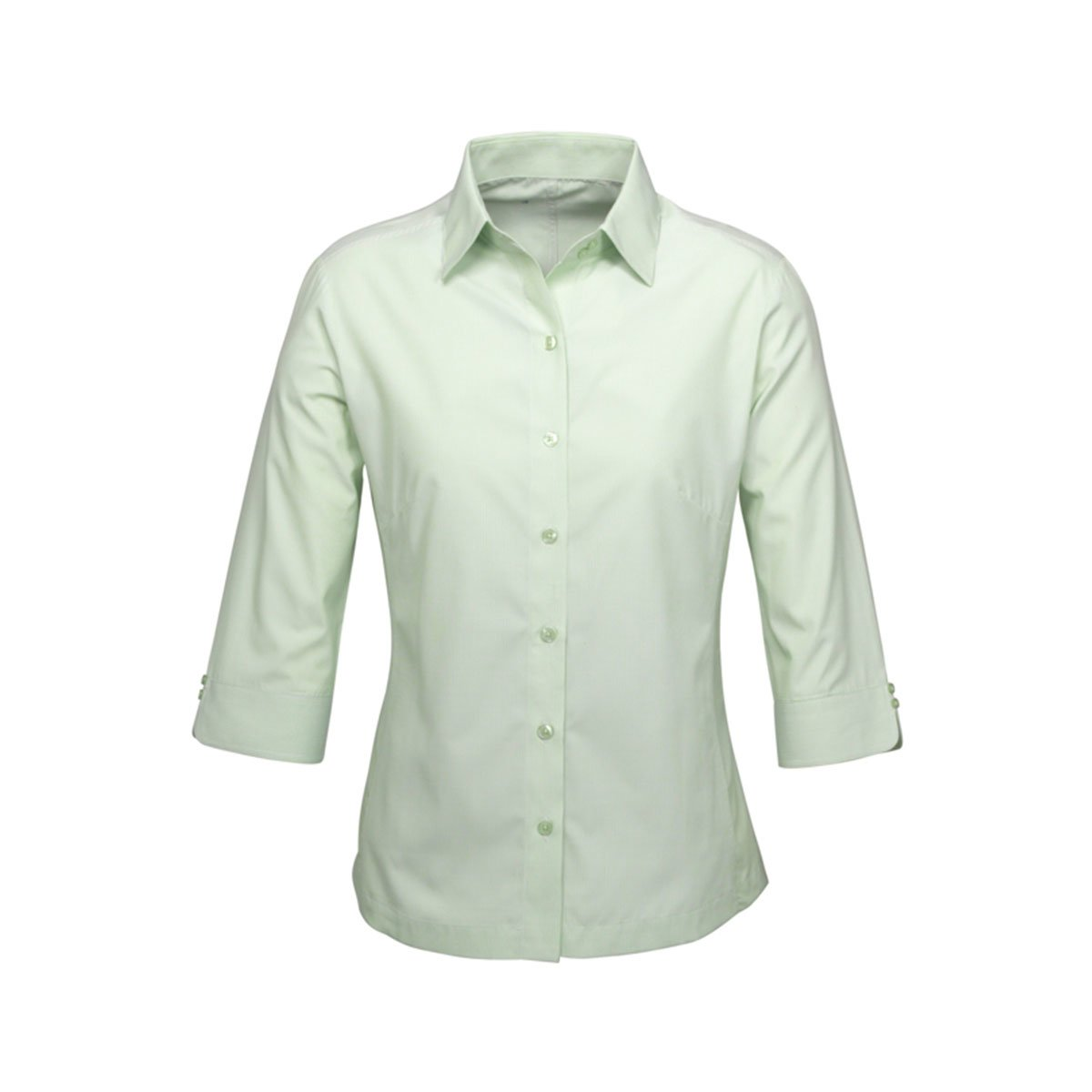 Ladies Ambassador 3/4 Sleeve Shirt-Green