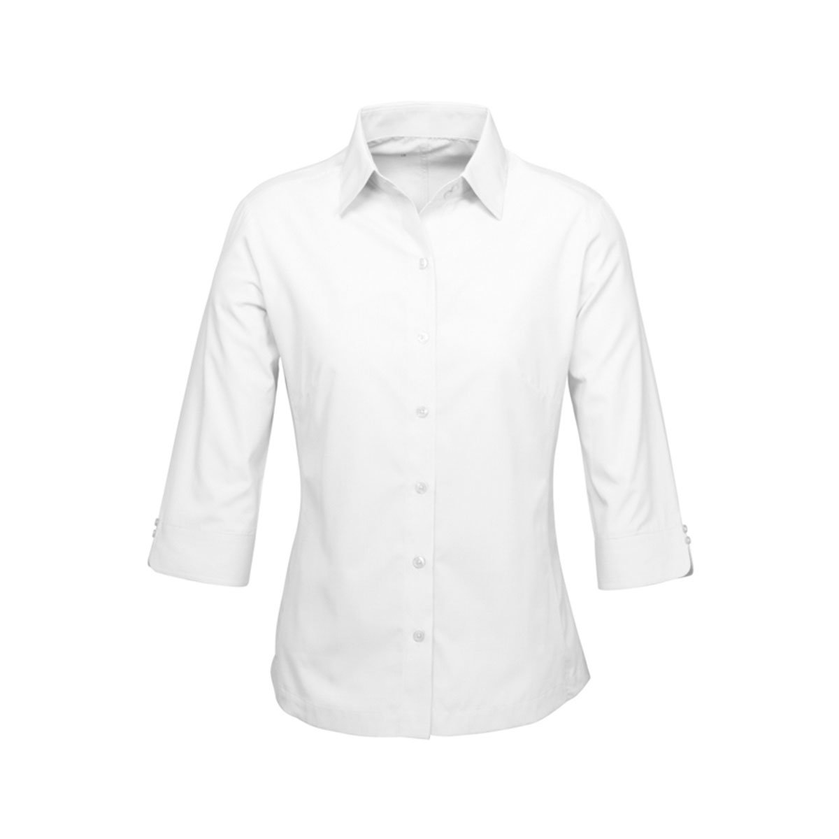 Ladies Ambassador 3/4 Sleeve Shirt-White