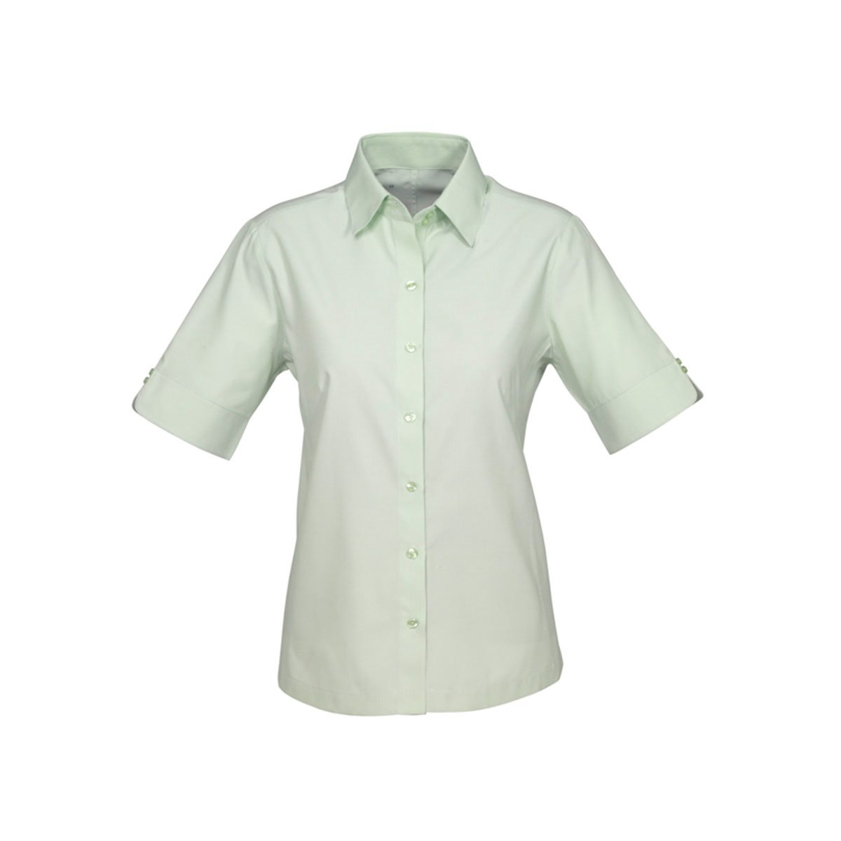 Ladies Ambassador Short Sleeve Shirt-Green