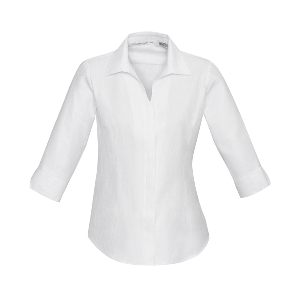 Ladies Preston 3/4 Sleeve Shirt-White