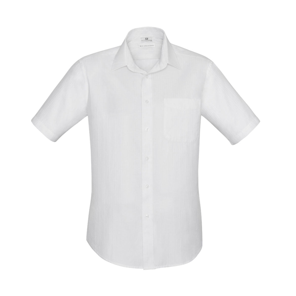 Mens Preston Short Sleeve Shirt-White