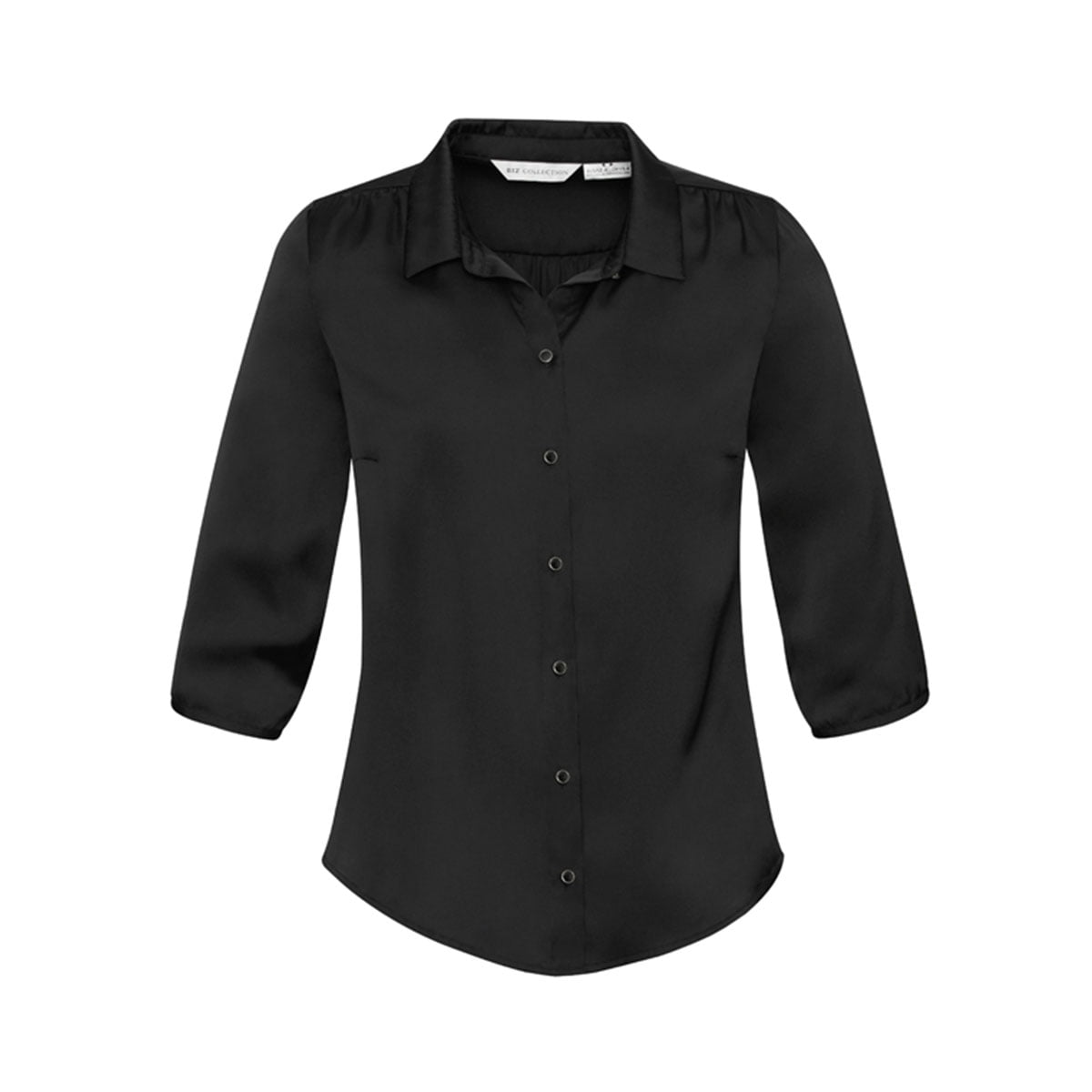 Ladies Shimmer Blouse-Black