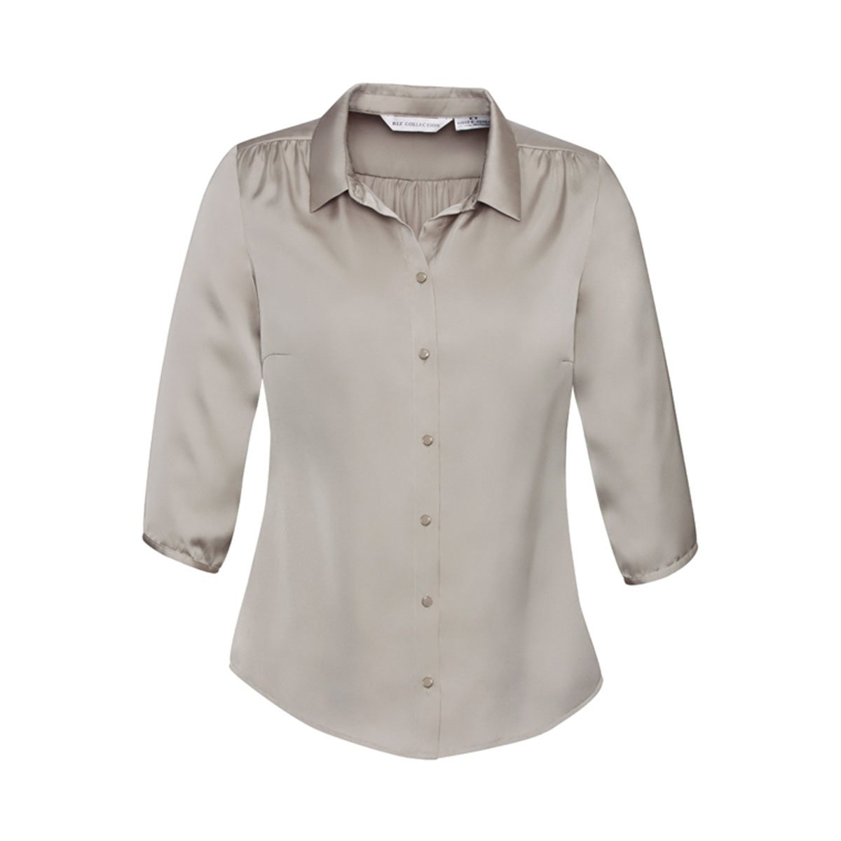 Ladies Shimmer Blouse-Champagne
