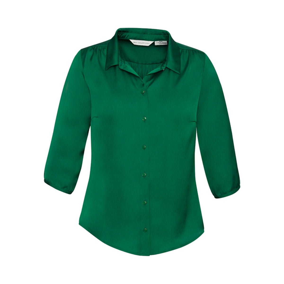 Ladies Shimmer Blouse-New Green