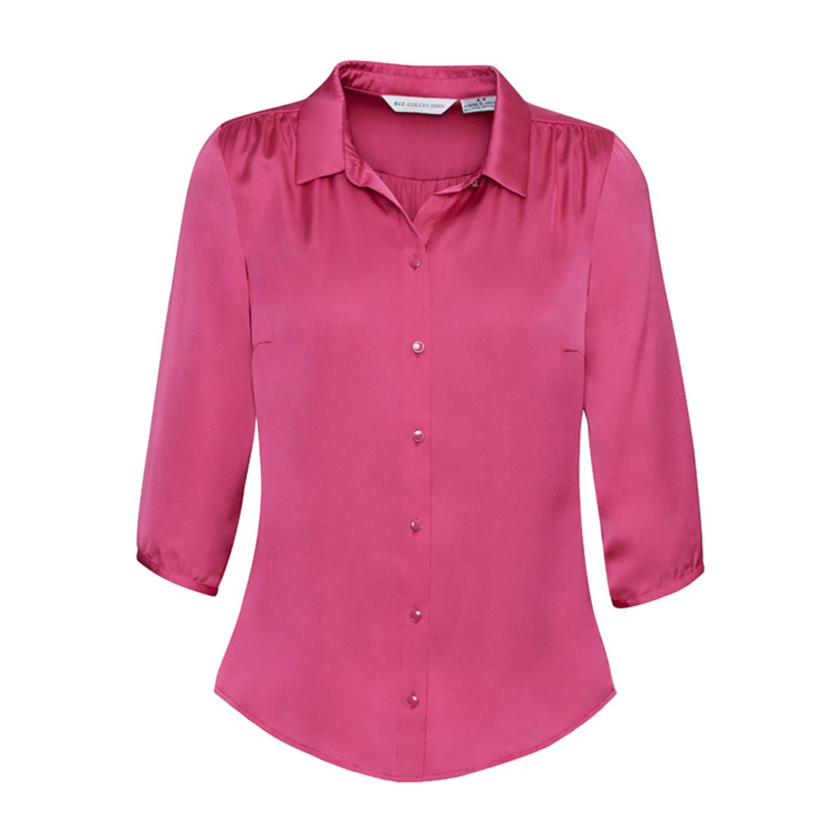 Ladies Shimmer Blouse-Poppy