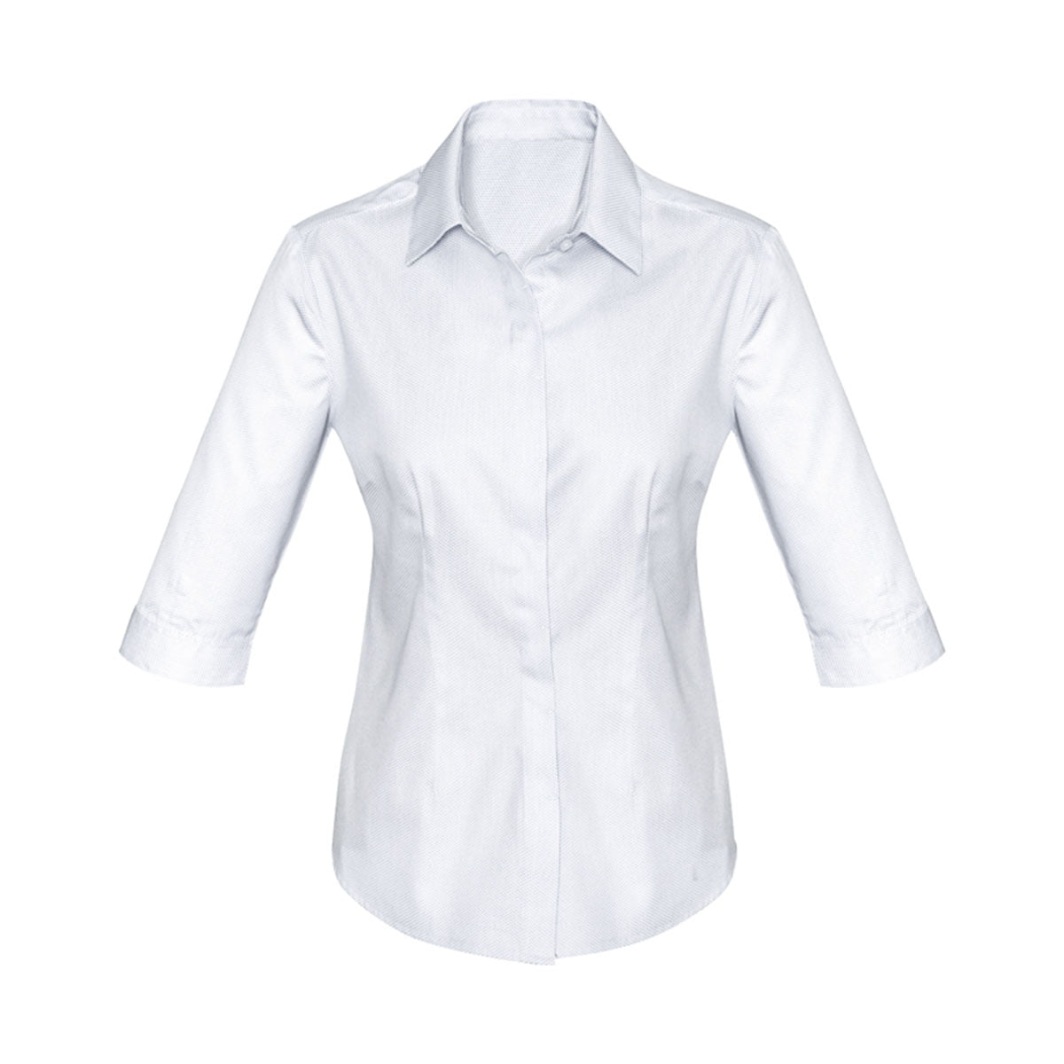 Ladies Stirling 3/4 Sleeve Shirt-White