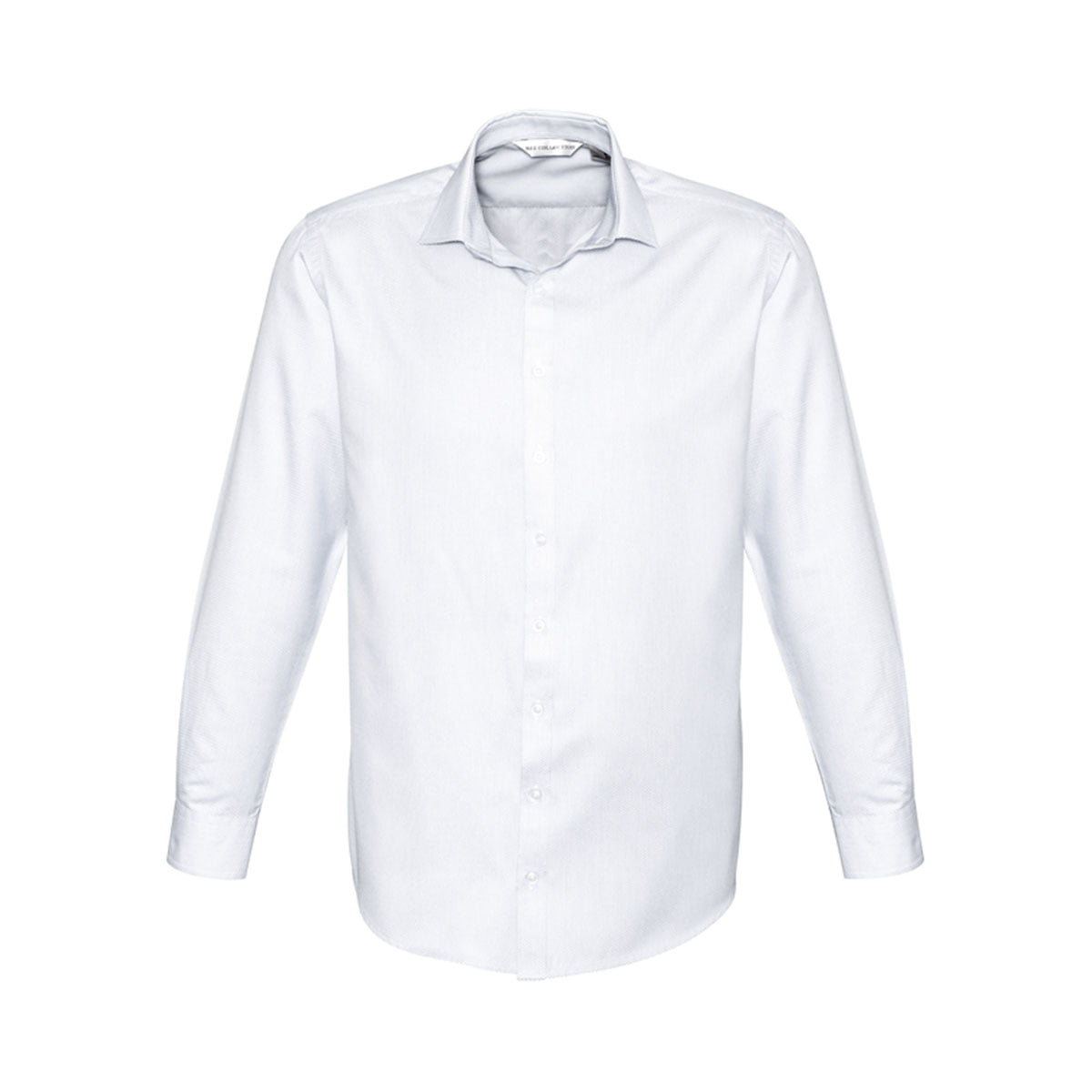 Mens Stirling Long Sleeve Shirt-White