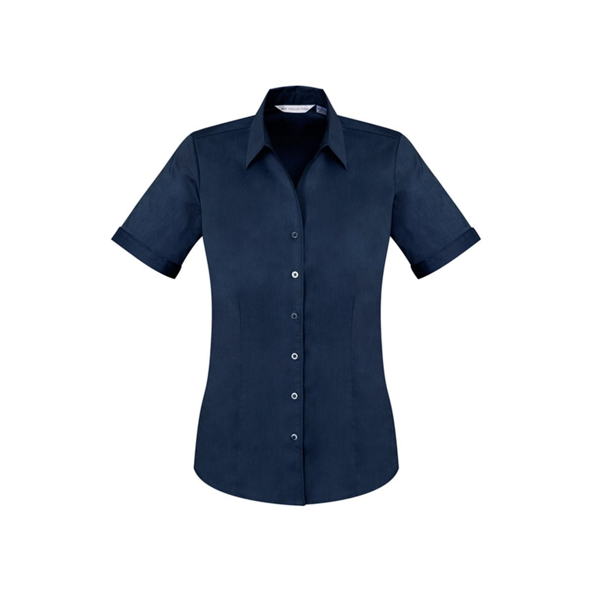 Ladies Monaco Short Sleeve Shirt-Ink