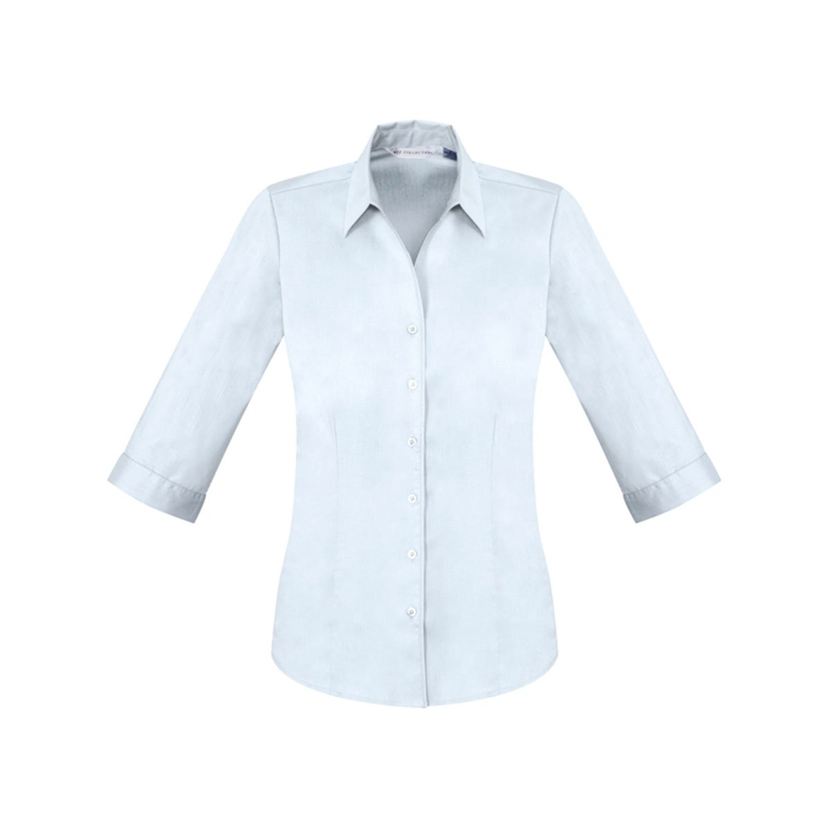 Ladies Monaco 3/4 Sleeve Shirt-White