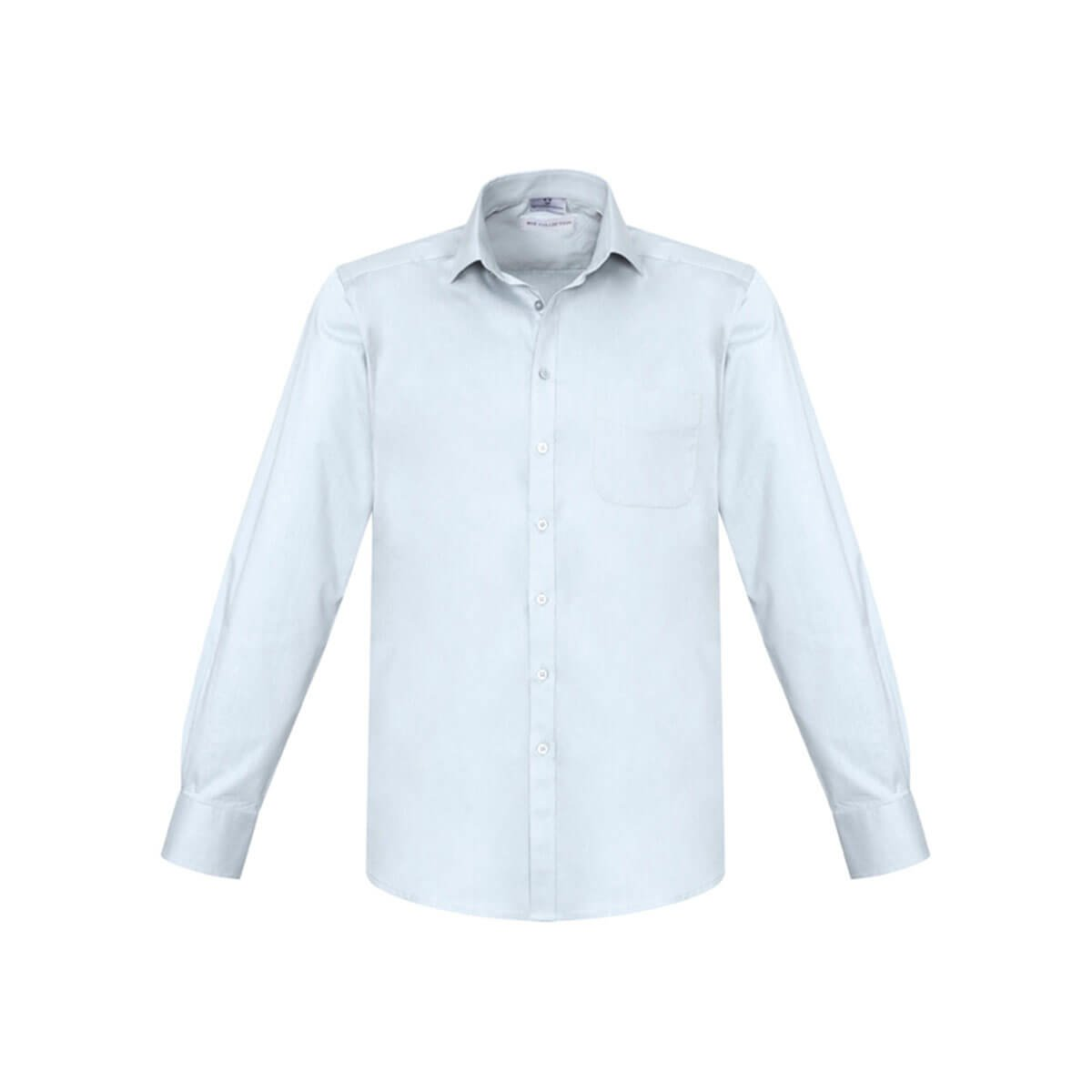 Mens Monaco Long Sleeve Shirt-White
