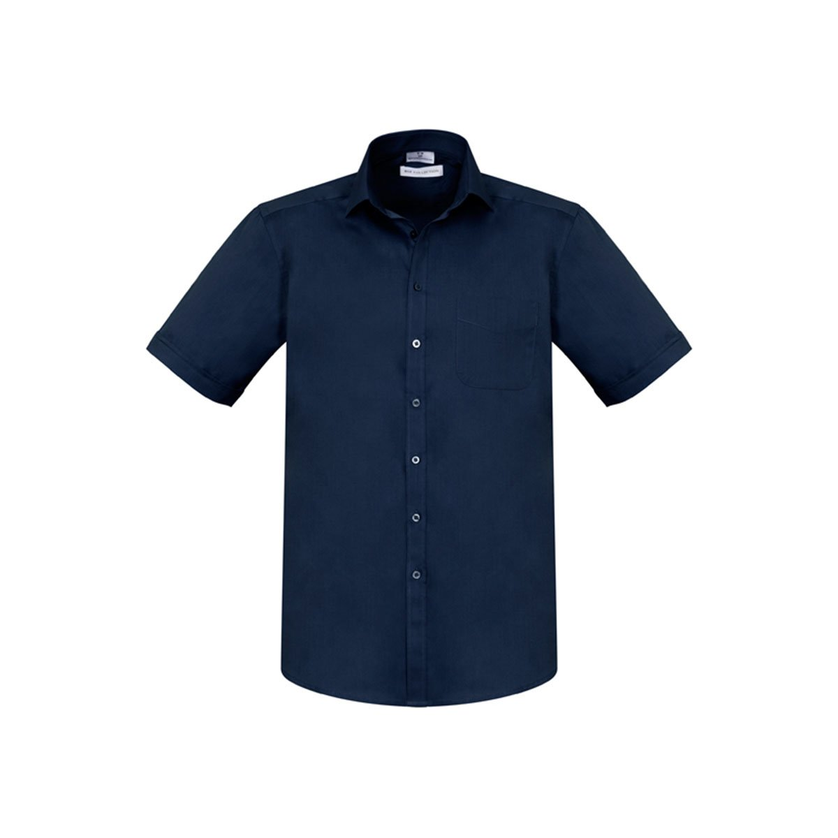 Mens Monaco Short Sleeve Shirt-Ink