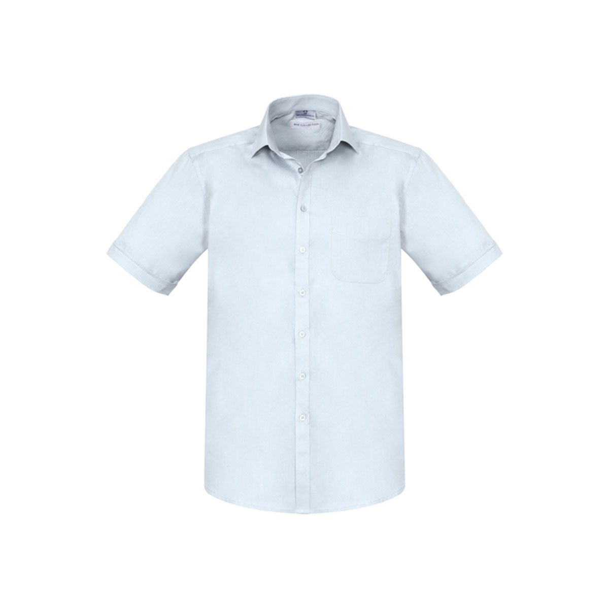 Mens Monaco Short Sleeve Shirt-White