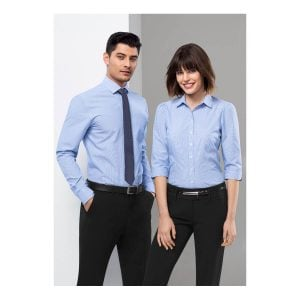 Ladies Euro 3/4 Sleeve Shirt