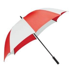 Tour Golf Umbrella-Red & White.