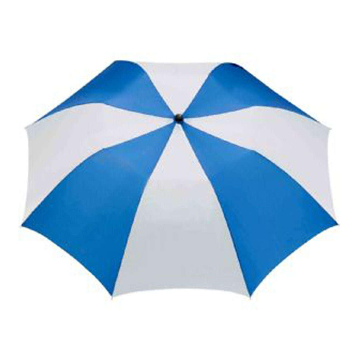 Stromberg Folding Auto Umbrella-Royal Blue & White.