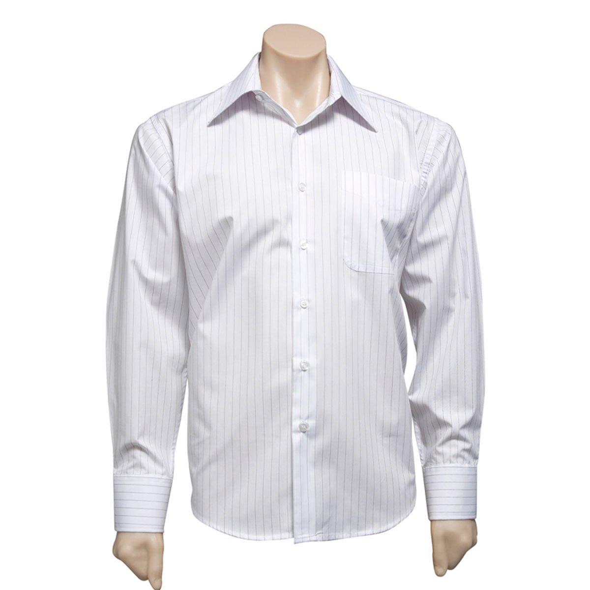 Mens Manhattan Long Sleeve Shirt-