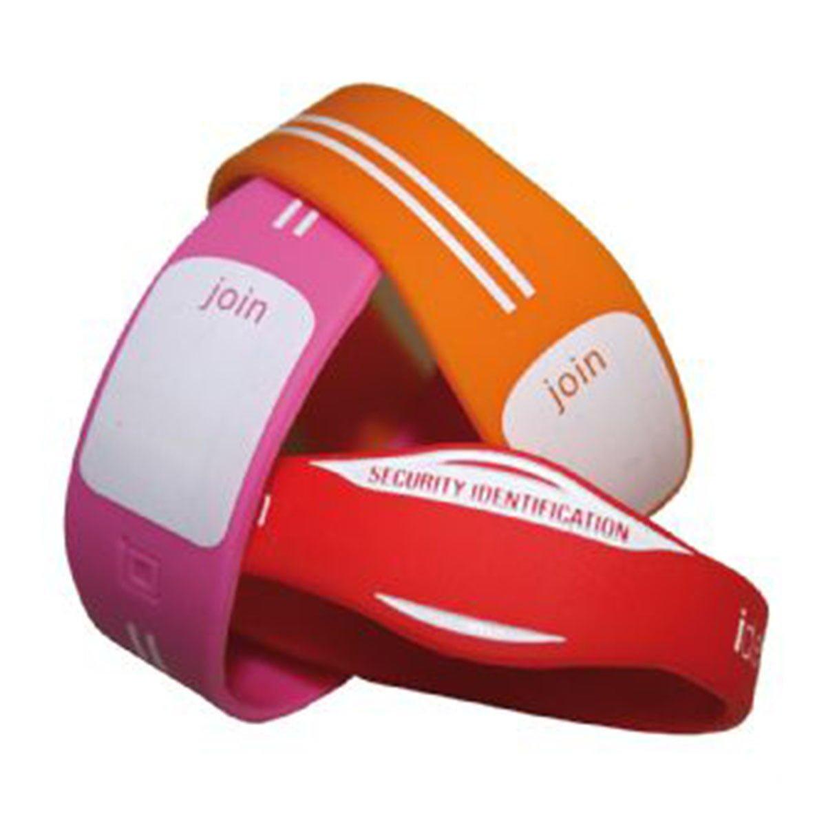 Custom Silicon Wristbands-Custom PMS Colour