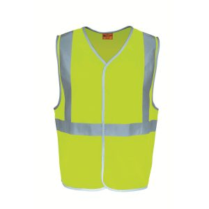 HI-VIS VEST WITH X TAPE