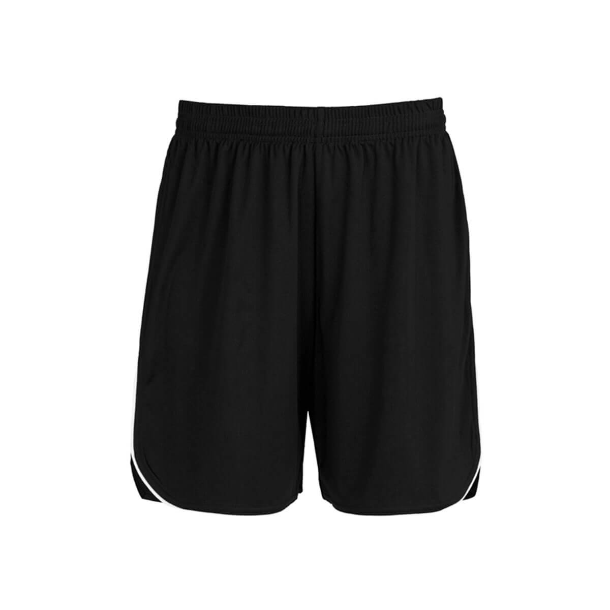 Mens Sonic Shorts-Black / White