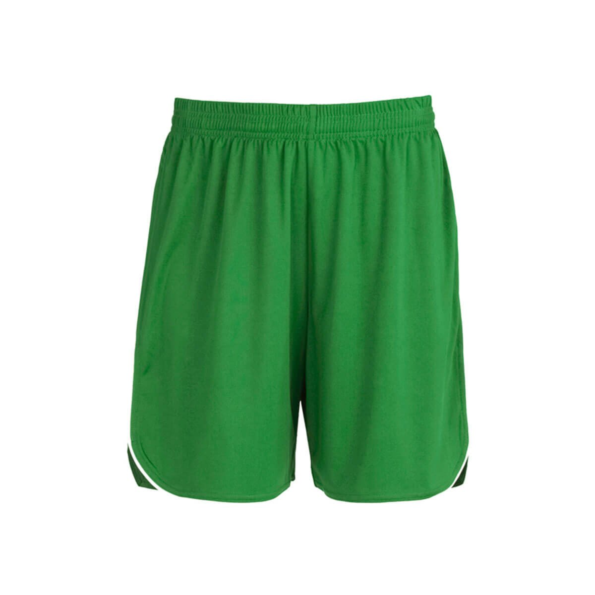 Mens Sonic Shorts-Emerald / White