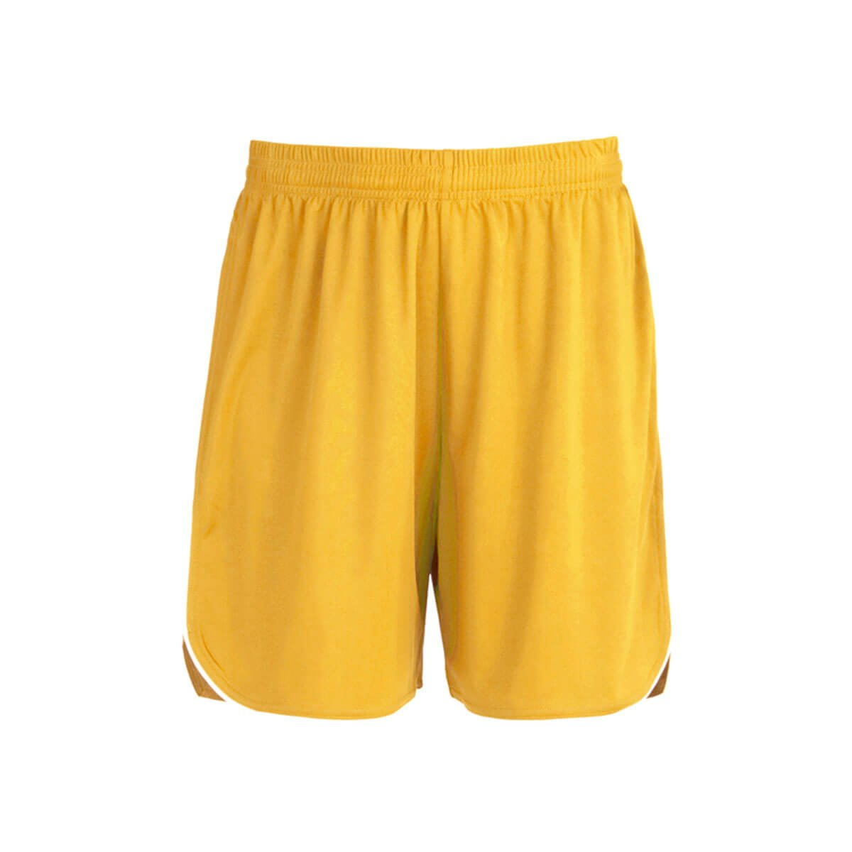 Mens Sonic Shorts-Gold / White