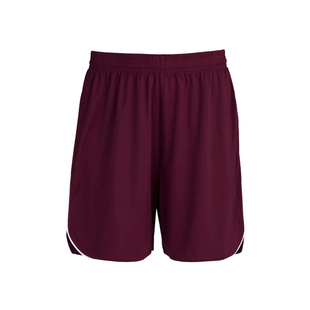 Kids Sonic Shorts-Maroon / White