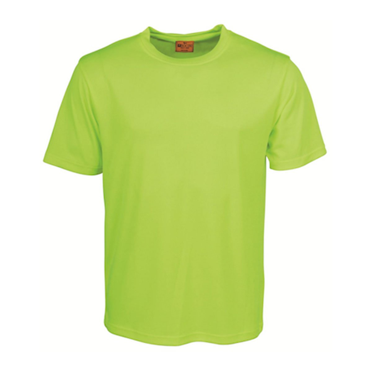 HI-VIS ROUND NECK TEE SHIRT-Lime