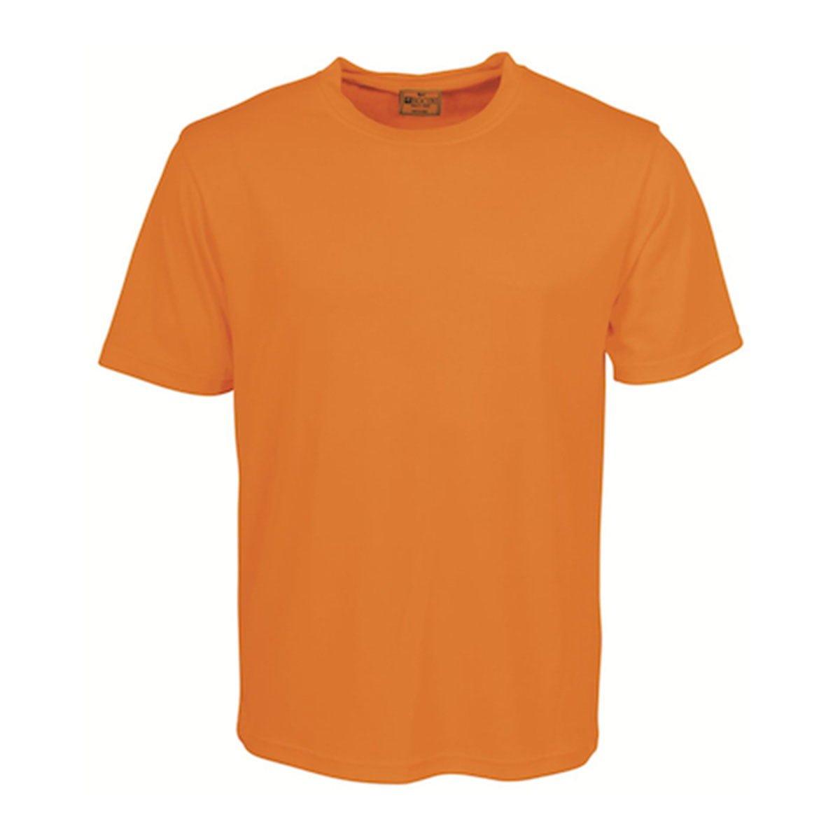 HI-VIS ROUND NECK TEE SHIRT-Orange