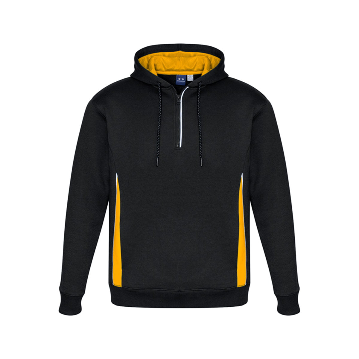 Adults Renegade Hoodie-Black / Gold / Silver