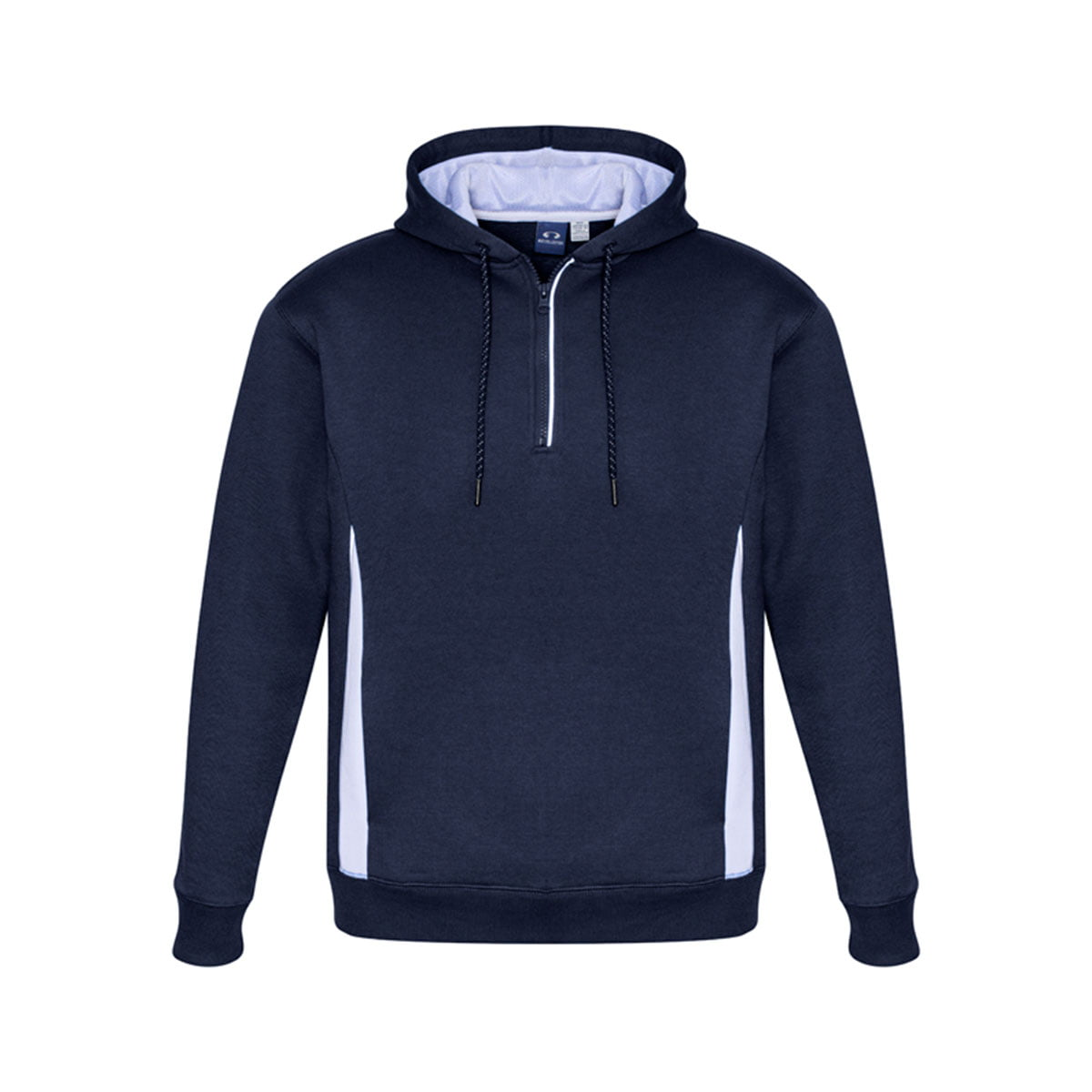 Adults Renegade Hoodie-Navy / White / Silver